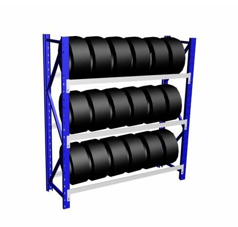 汽车配件的结构外形设计货架